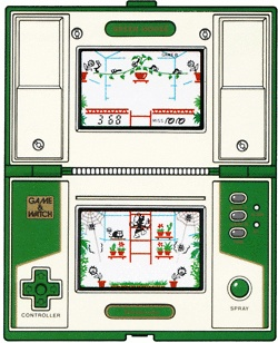 """Greenhouse (1982) Nintendo - Game and Watch - """"Multi-screen Series"""""""