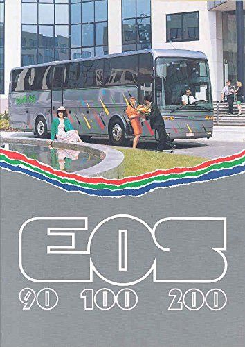 1993 Van Hool EOS 90 100 200 Tour Bus Sales Brochure