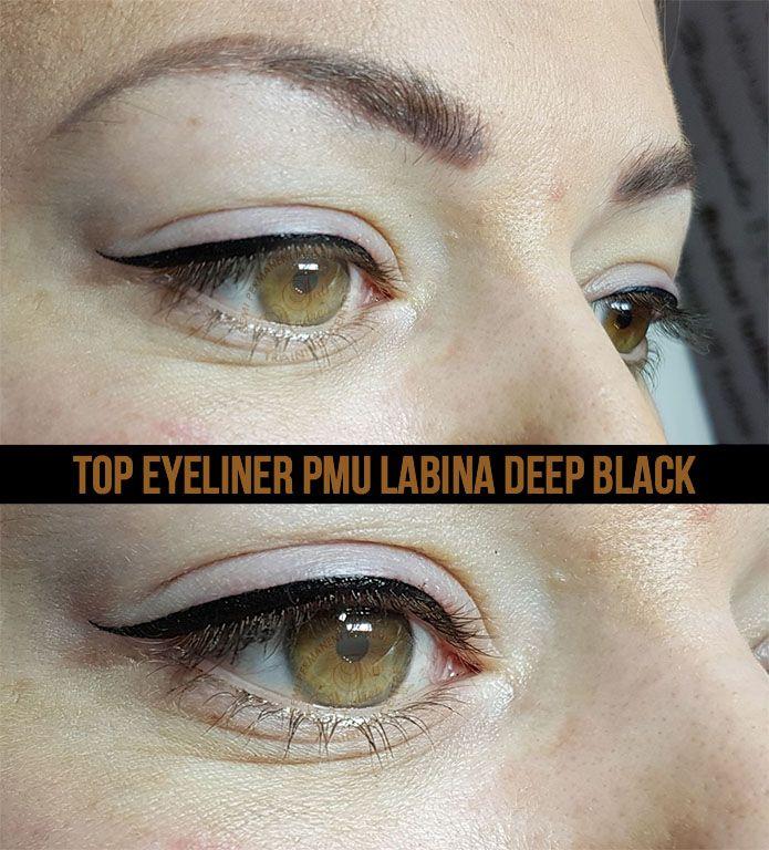 Top eyeliner PMU Labina deep black