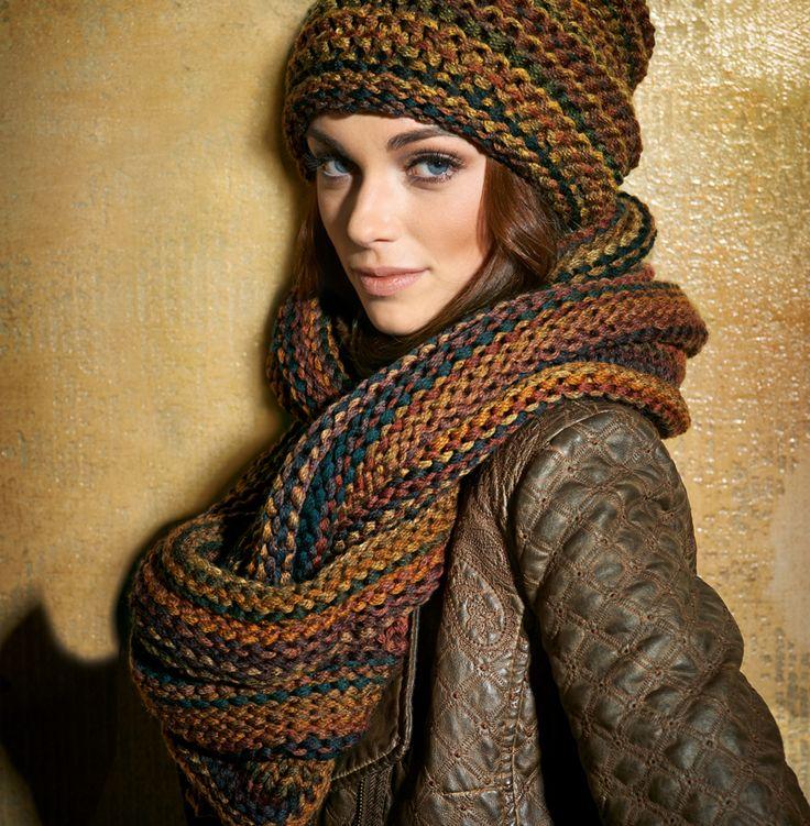 Wil jij ook een sjaal en muts breien met Lana Grossa Loop? Dit prachtige garen is ideaal voor het maken van de mooiste projecten. Bekijk hier het patroon!