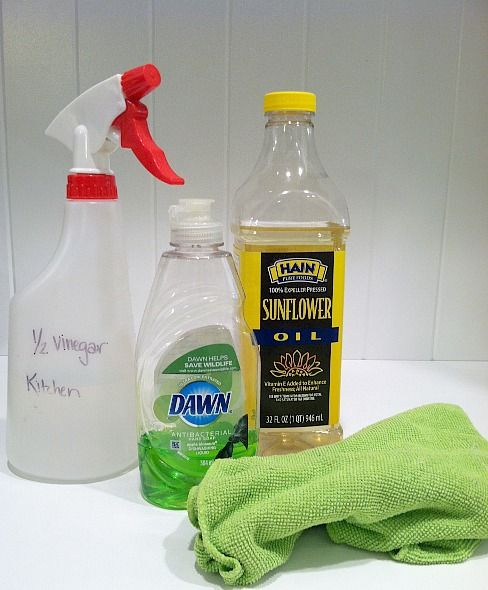 """4 DIY stainless steel cleaners -- okay, not all of them are """"green"""" but they are homemade so I am filing them here."""