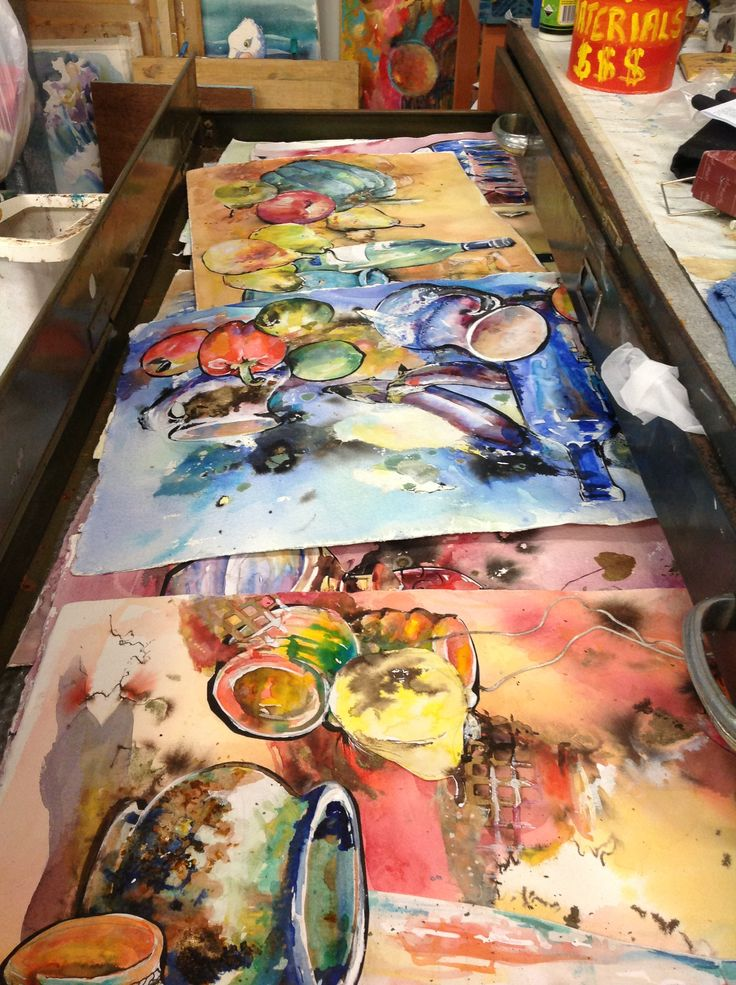 Drawers full of creativity. Judy Pomroy