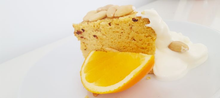 Recipe: Spanish Orange Almond Cake