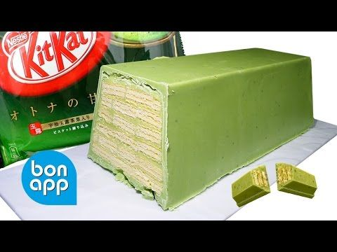bonapp: Гигантский КитКат с зеленым чаем. Mega KitKat green tea.