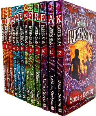 The Saga of Darren Shan Pack: Includes Allies of Night, Cirque Du Freak, Hunters of Dusk, Killers of Dawn, Lake of Souls, Lord of Shadows, Sons of Destiny, Vampire Prince, Vampire's Assistant, Trials of Death (Paperback)