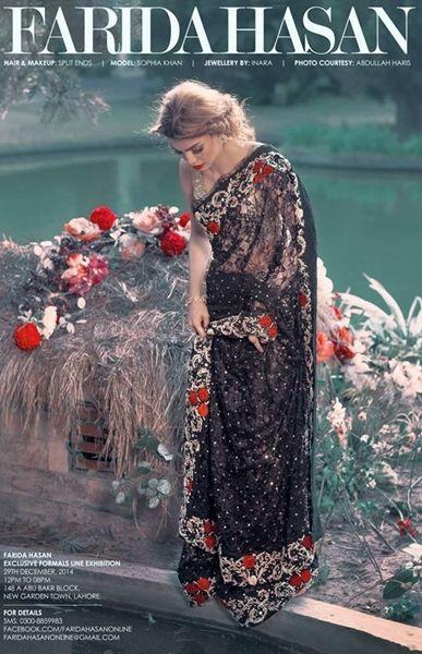 Farida Hasan Formal Wear Royal Dresses Collection 2015 4