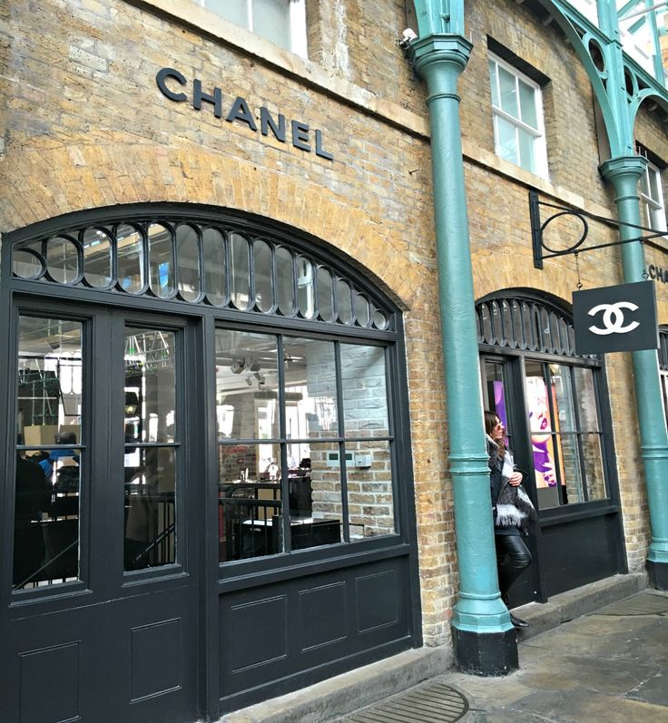 When in London-Chanel store at Covent Garden