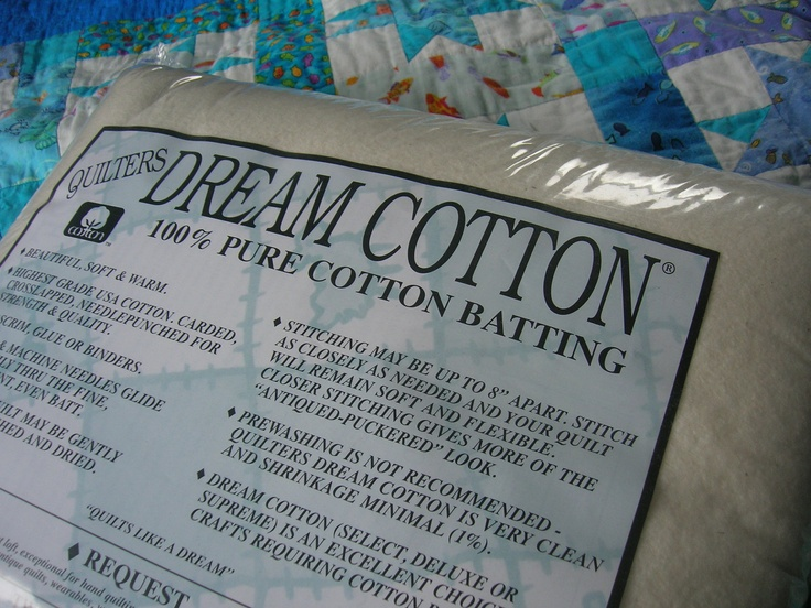 Quilters Dream Request Cotton Batting - the best batting ever!