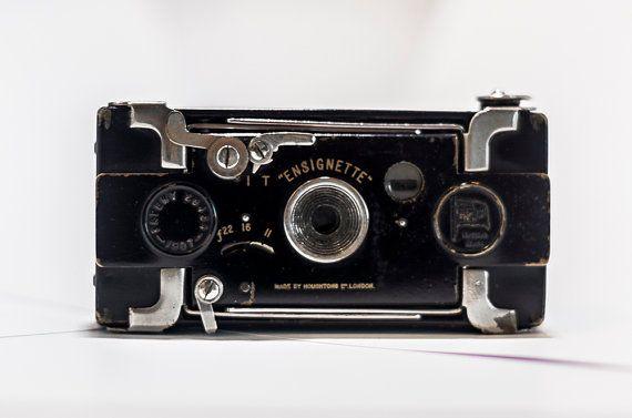 Houghton Ensignette No. 1 Model 1909 RARE por CameraCollection