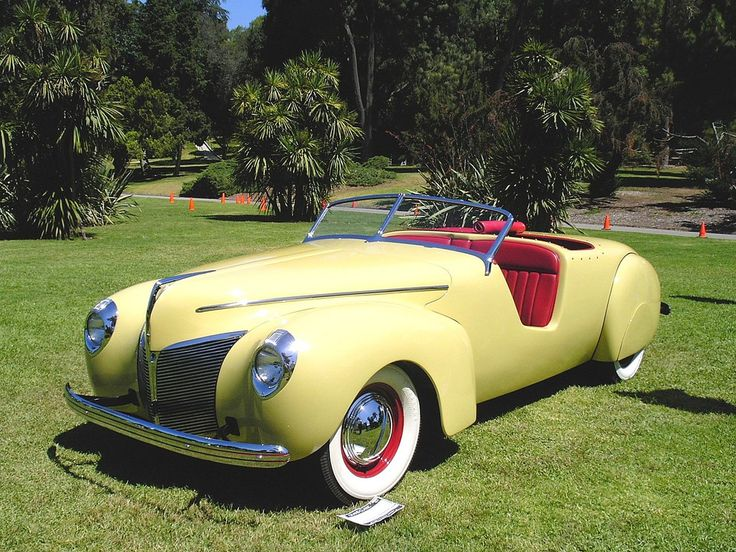 1940 Mercury Coachcraft Convertible Coupe