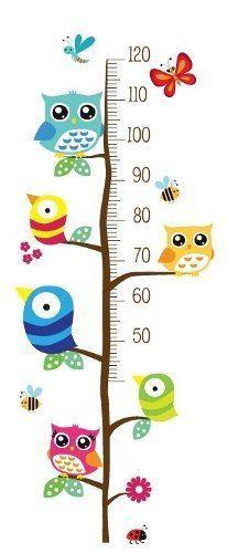 medidor de altura para niños, vinilos infantiles decorativos
