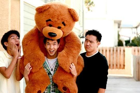Ted, Wes, and Phil of Wong Fu Productions. Favorite Video: Strangers, Again