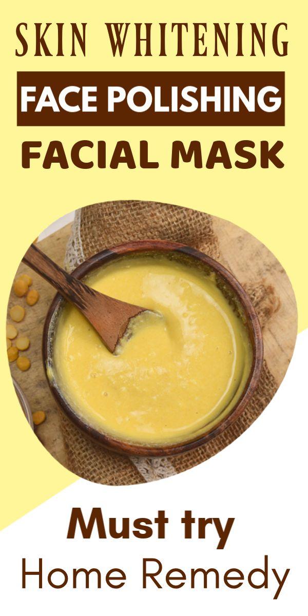 Skin Whitening And Face Polishing Facial Summer Mask At Home