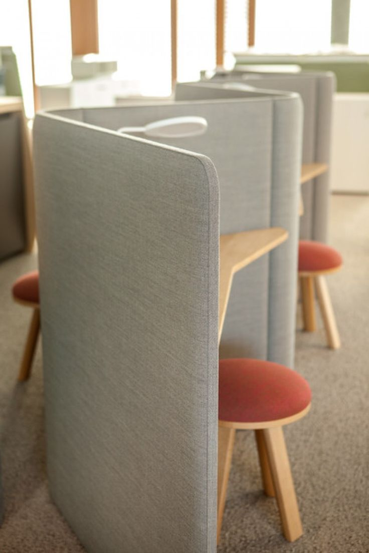 BUZZIVILLE | Alain Gilles for Buzzispace. -  office cubicle acoustics office solutions cell work open space lobby custom furniture design interior architecture