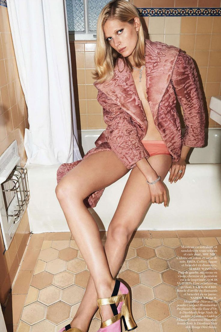 Iselin Steiro by Glen Luchford for Vogue Paris November 2013 | The Fashionography
