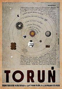 Toruń, plakat z serii Polska, Ryszard Kaja