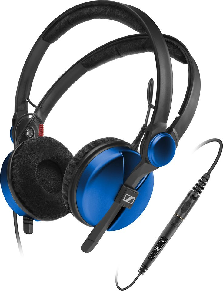 Sennheiser HD 25 Amperior DJ Pro Monitoring Headphones - Blue  AMPBLUE-NEW,    #Sennheiser Headphones