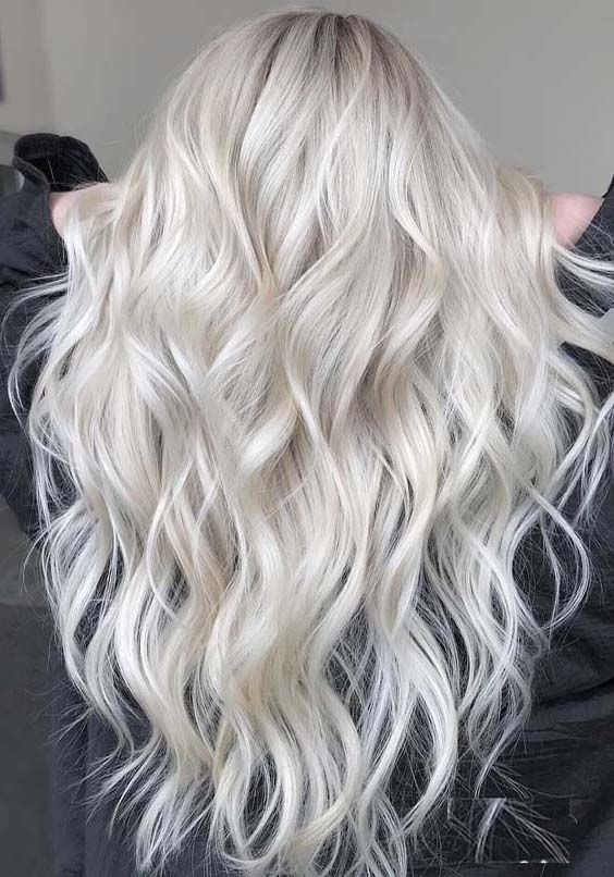 29 Gorgeous Platinum Blonde Hair Color Trends for 2018