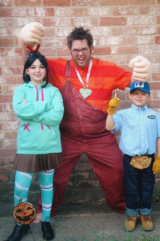 Awesome Wreck it Ralph costumes