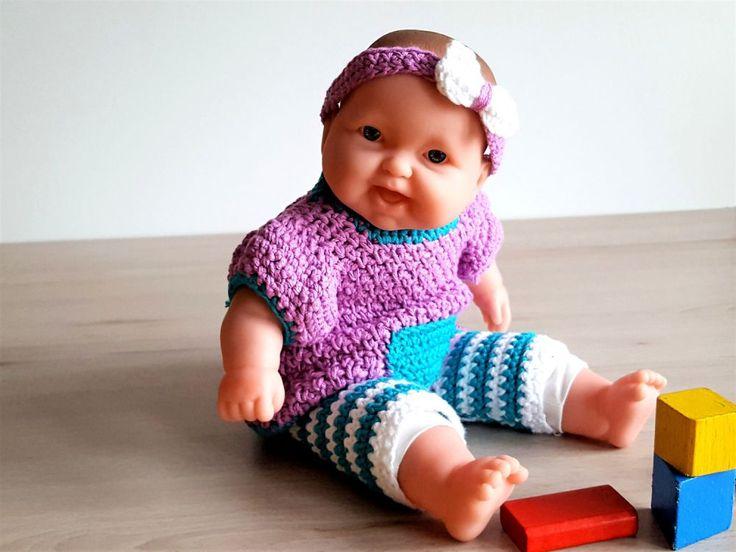 Puppenkleidung, Leggins und Kleidchen, für 30-35 cm Puppen - MyPatterns
