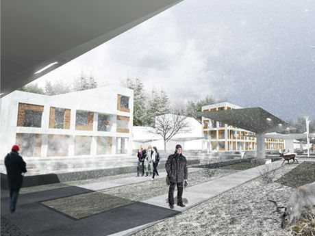 Zone A 1st geo-thermal resort in Poland  FAAB awarded in urban/architectural competition for the masterplan of a resort area in Uniejów, Poland - the first geo-thermal resort in Poland.