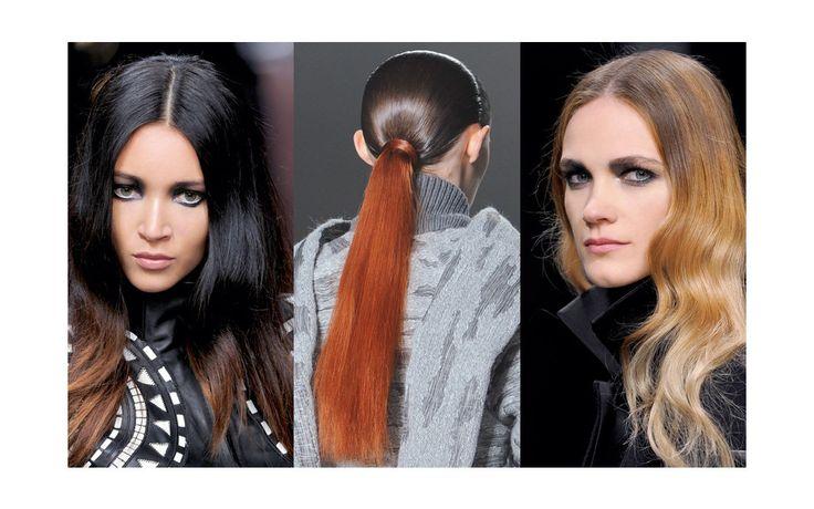 Dip Dye Dreams - Kontrast-Programm: Getönte Farbverläufe im Haar gehören zu den Stylingfavoriten der Designer. ELLE erklärt, wie dieser sinnliche Trend funktioniert.