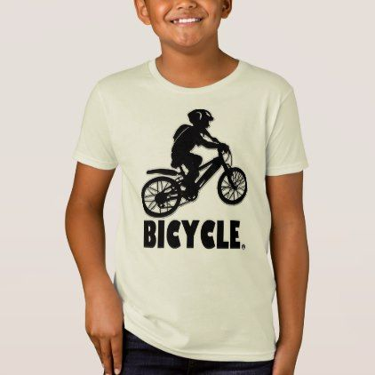 #Bicycle Modern Designer  Kids T-Shirt Clothes Sale - #giftideas for #kids #babies #children #gifts #giftidea