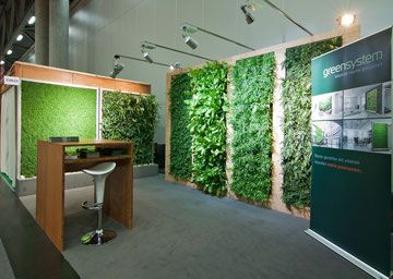 Galerie - greensystem, green system, Pflanzen, lehner, vertical wall, Kräuterwand, glatz blattgrün, Blattgruen, mobilespflanzsystem, vertikale wand, Pflanzwände, Innenraumbegrünung, green
