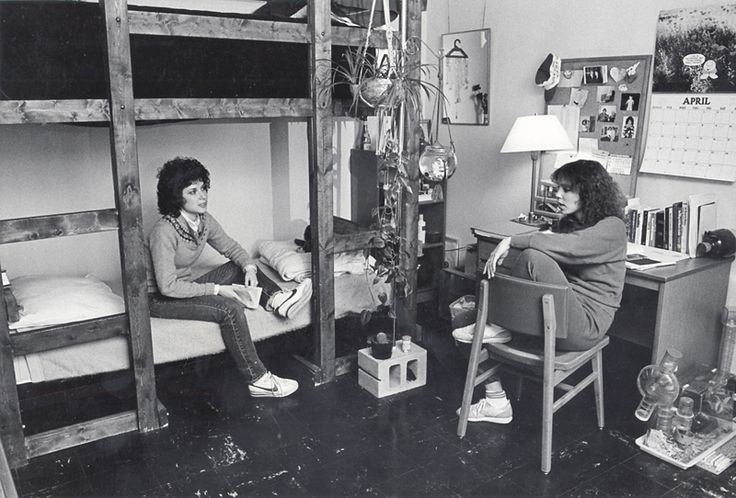 UW Madison 1980s- Vintage Dorm Rooms!