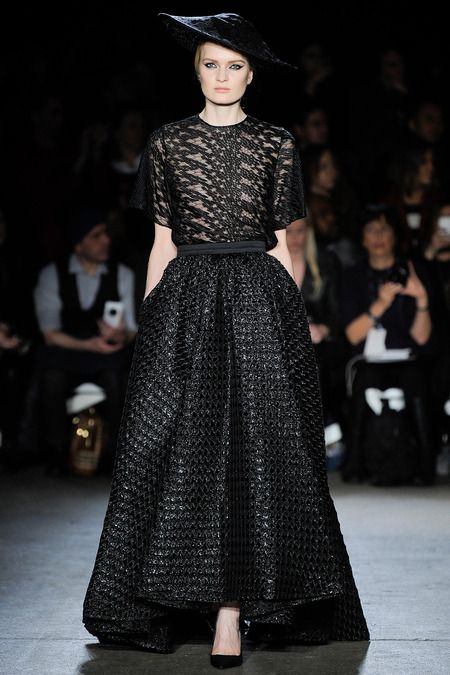 Christian Siriano Fall 2014 Ready-to-Wear
