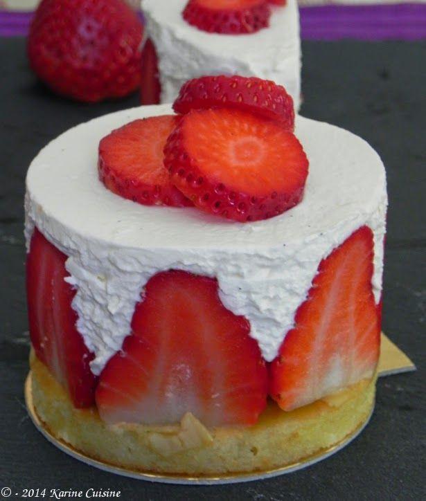 Karine Cuisine: Le fraisier à l'italienne {pour diabétique IG bas}...