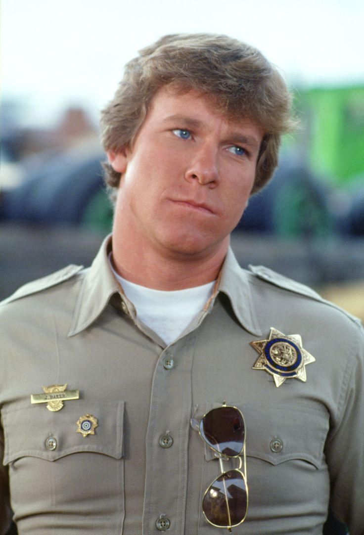 "Larry Wilcox as Jon Baker on ""CHiPs"""