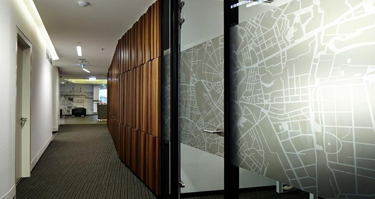 Circulation into the offices of JLL in Moscox, Russia