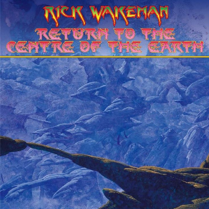 Rick Wakeman - Return To The Centre Of The Earth on 180g 2LP