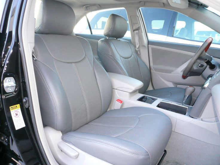 Clazzio PVC Leatherette Custom Fit Front & Rear Seat Covers for Toyota Tacoma TRD Double Cab