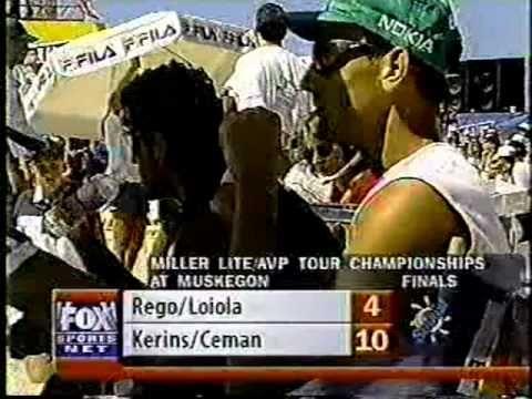 AVP Volleyball 1998 Muskegeon Final
