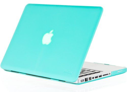 """Kuzy - 15inch Teal / Turquoise Hot BLUE Rubberized Hard Case Cover for NEW Macbook PRO 15.4"""" (A1286) Aluminum Unibody"""