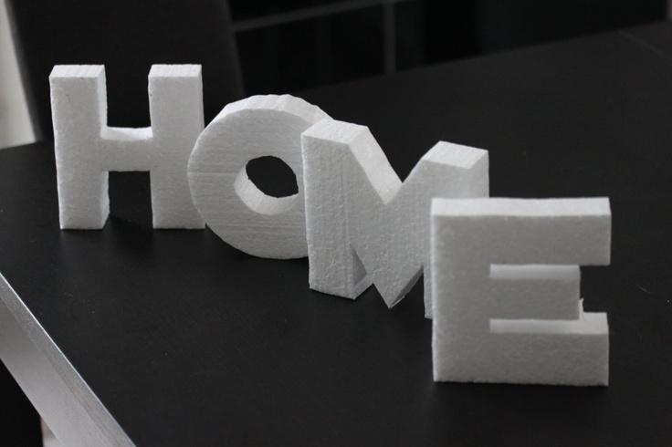 deko buchstaben schnell und preisg nstig aus styropor hergestellt bastel ideen pinterest. Black Bedroom Furniture Sets. Home Design Ideas