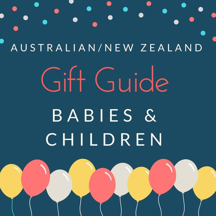 Gift guide for babies and children. Australian and New Zealand Gift Guide for locally sourced handmade gift items. Support local creators by shopping small this Christmas.