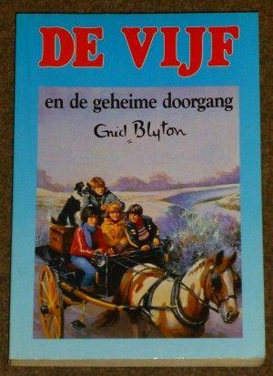 Enid Blyton ~ De Vijf en de geheime doorgang (Dl. 2)       Op voorraad   € 1,75