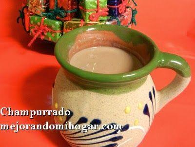 Prepara un rico Champurrado Mexicano, un atole de chocolate que acostumbramos tomar en México, durante la Temporada Navideña.