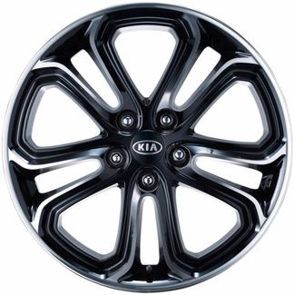 ALY74621 KIA SOUL Wheel Black Machined #P84002K010