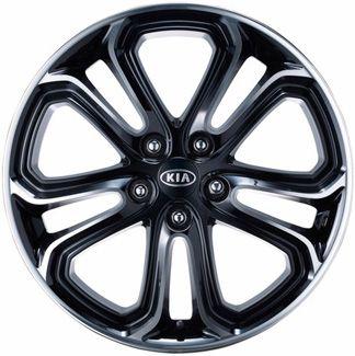 ALY74621 KIA SOUL Wheel Black Machined #P84002K010