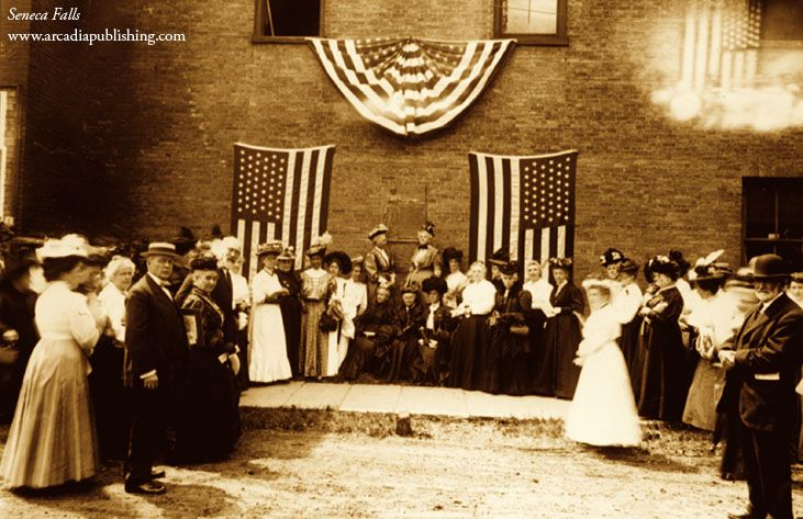 On This Day in History, July 19, 1848: The first ever U.S. woman's rights convention was held in Seneca Falls, NY with almost 200 women in attendance.