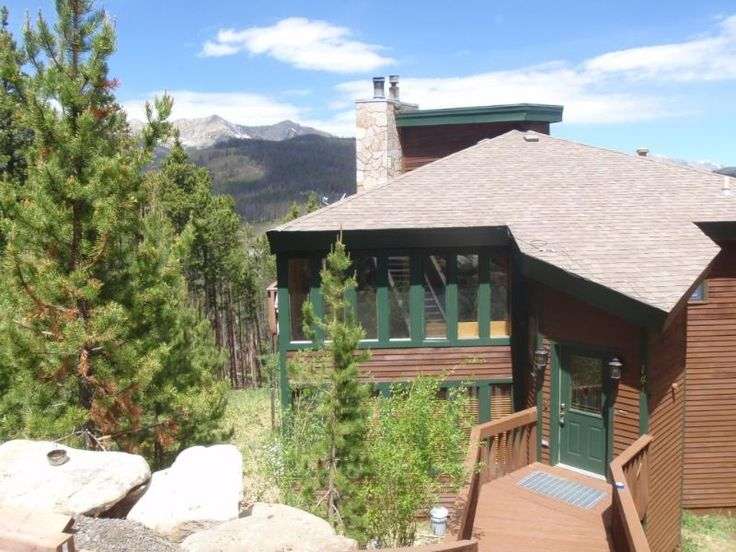 The Wolves Den: 6 Bedroom House Rental in Breckenridge with Mountain Views 141 Shekel Lane.