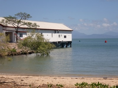 Boatshed at Port Douglas