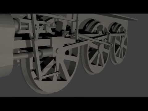steam train rigging - YouTube