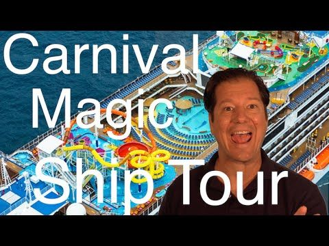 Carnival Magic Review - Full Walkthrough - Cruise Ship Tour - Carnival Cruise Lines - YouTube