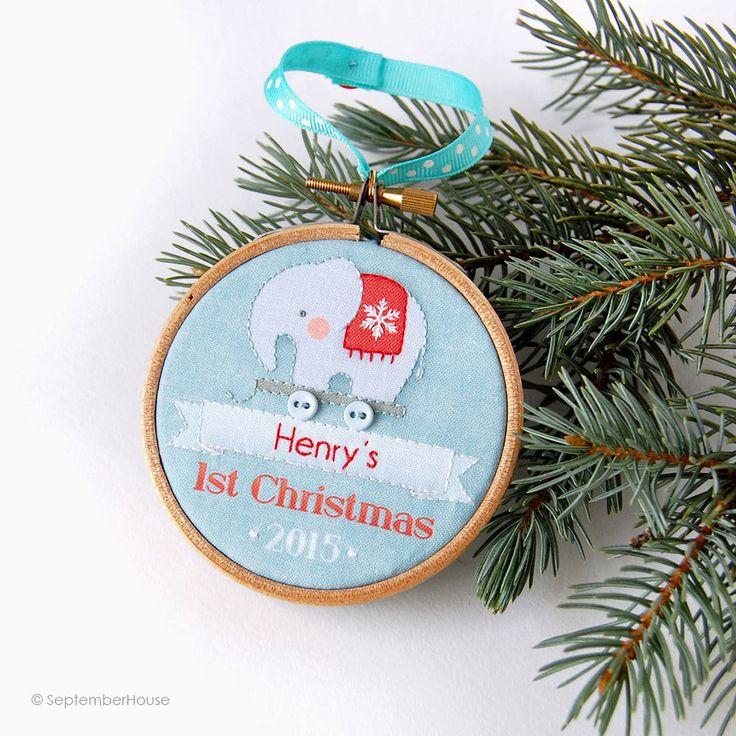 122 best christmas ornaments babys first images on pinterest coolest gifts for babys first christmas negle Image collections