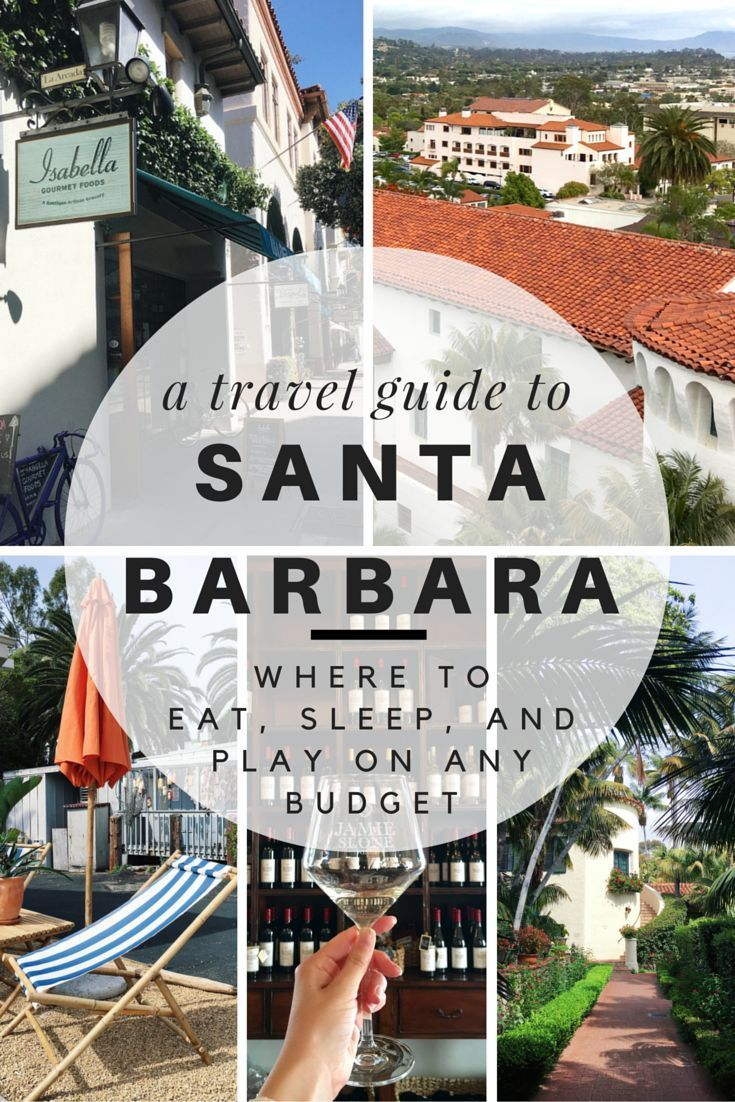 25 best ideas about california road trips on pinterest for Santa barbara vacation ideas